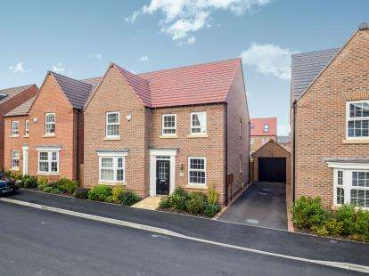 4 Bedrooms Detached House for sale in Paulina Avenue, Hucknall, Nottingham, Nottinghamshire