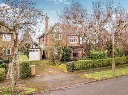 5 Bedrooms Detached House for sale in Dovedale Road, West Bridgford, Nottingham, Nottinghamshire