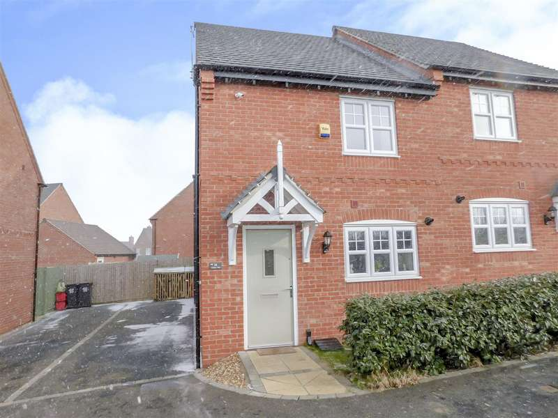 2 Bedrooms Semi Detached House for sale in Vulcan Way, Castle Donington