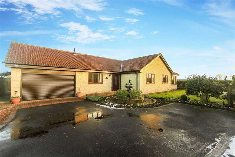 4 Bedrooms Bungalow for sale in Gables End, Widdrington Station, Northumberland