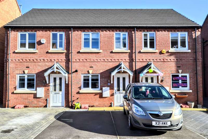 2 Bedrooms Town House for sale in Foundry Gate, Wombwell, Barnsley, S73 0LF
