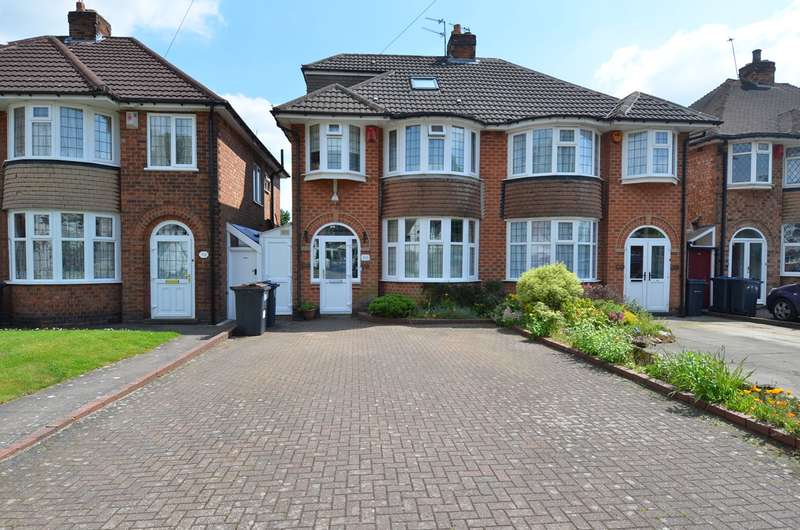 3 Bedrooms Semi Detached House for sale in Woodthorpe Road, Kings Heath , Birmingham, B14