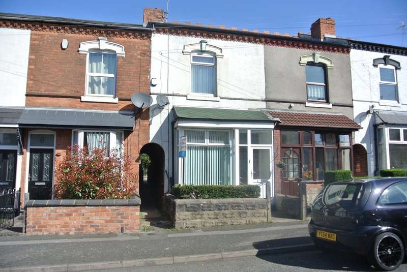 2 Bedrooms Terraced House for rent in Hermitage Road, Erdington B23