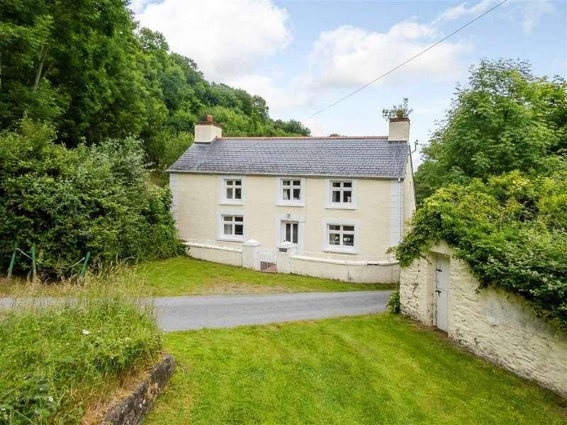 4 Bedrooms Detached House for sale in Cwmtydu, Llandysul, Carmarthenshire