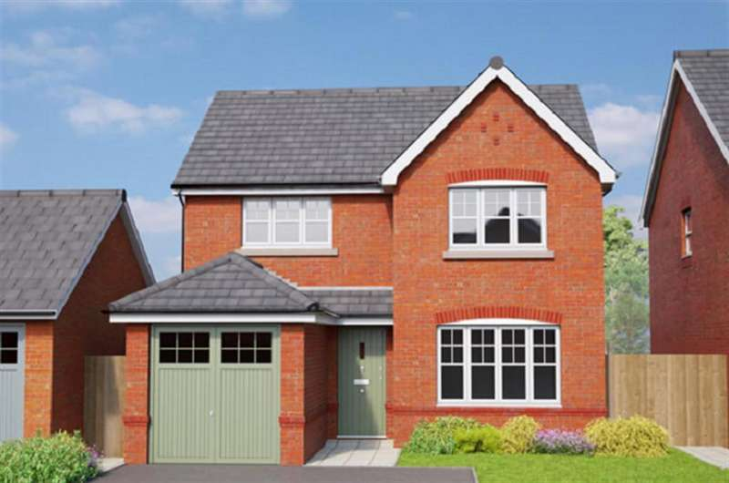 4 Bedrooms Detached House for sale in The Richmond, Erddig Place, Wrexham, LL11