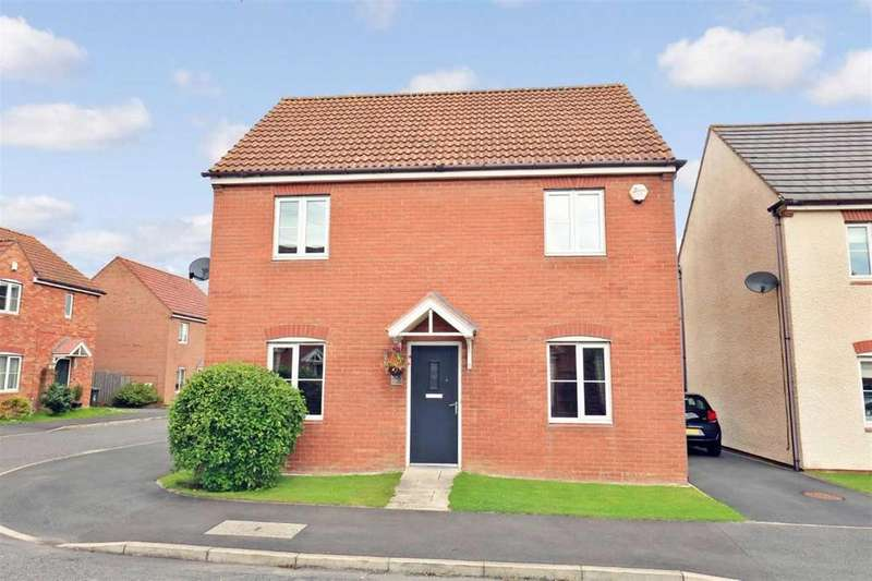 3 Bedrooms Detached House for sale in Heathfield, West Allotment, Newcastle upon Tyne, NE27 0BP