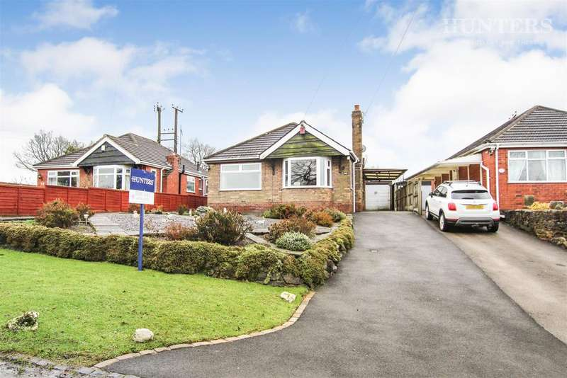 2 Bedrooms Detached Bungalow for sale in Ball Lane, Norton Green, Stoke-on-Trent, ST6 8PN