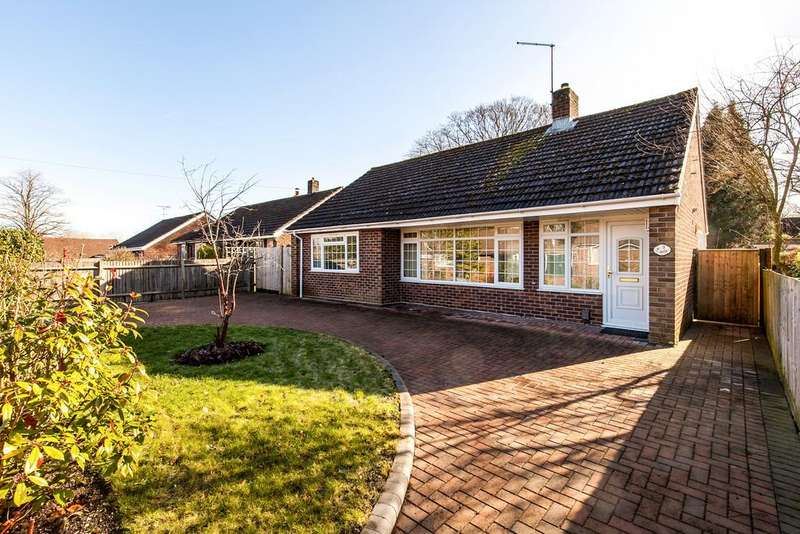 2 Bedrooms Detached Bungalow for sale in Weeke Manor Close, Winchester, SO22