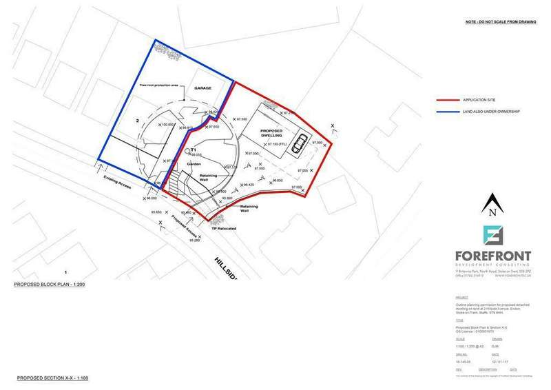 1 Bedroom Plot Commercial for sale in Hillside Avenue, Endon, Stoke-on-Trent, ST9 9HH