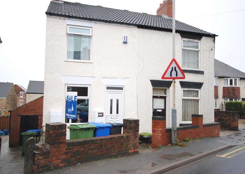 2 Bedrooms Semi Detached House for rent in Handley Road, New Whittington, Chesterfield, S43 2EE