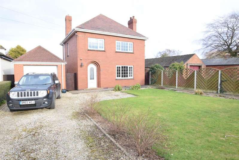3 Bedrooms Detached House for sale in North Street, West Butterwick, DN17 3JW