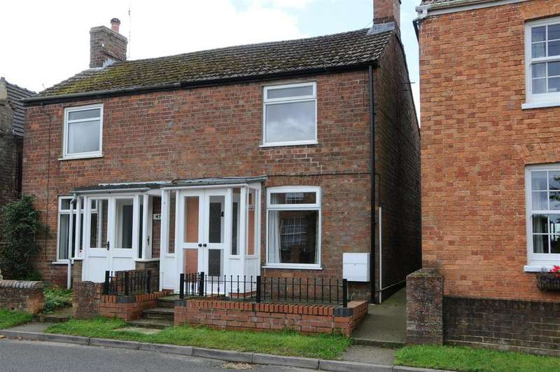 2 Bedrooms Semi Detached House for rent in Main Road, Hundleby, Spilsby, PE23 5LZ