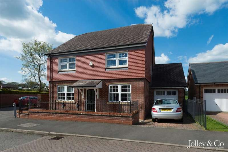 4 Bedrooms Detached House for sale in 1 Whittaker Close, Congleton, Cheshire