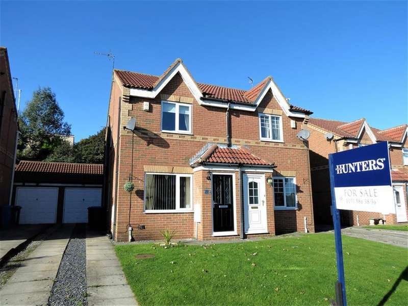 2 Bedrooms Semi Detached House for sale in Garside Grove, Peterlee, SR8 2QB