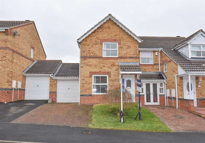 2 Bedrooms Semi Detached House for sale in Bluebell Close, Leadgate, Consett, DH8 7GA