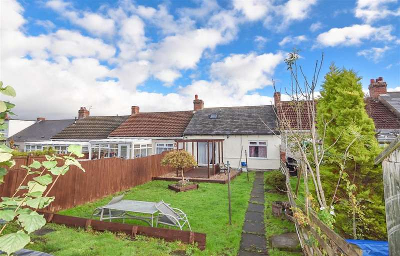 2 Bedrooms Terraced Bungalow for sale in Third Street, Watling Street Bungalows, Consett, DH8 6HT