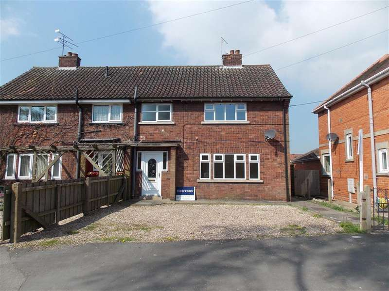 3 Bedrooms Semi Detached House for rent in Church Street, Kirton Lindsey, Gainsborough, Lincolnshire, DN21 4PN