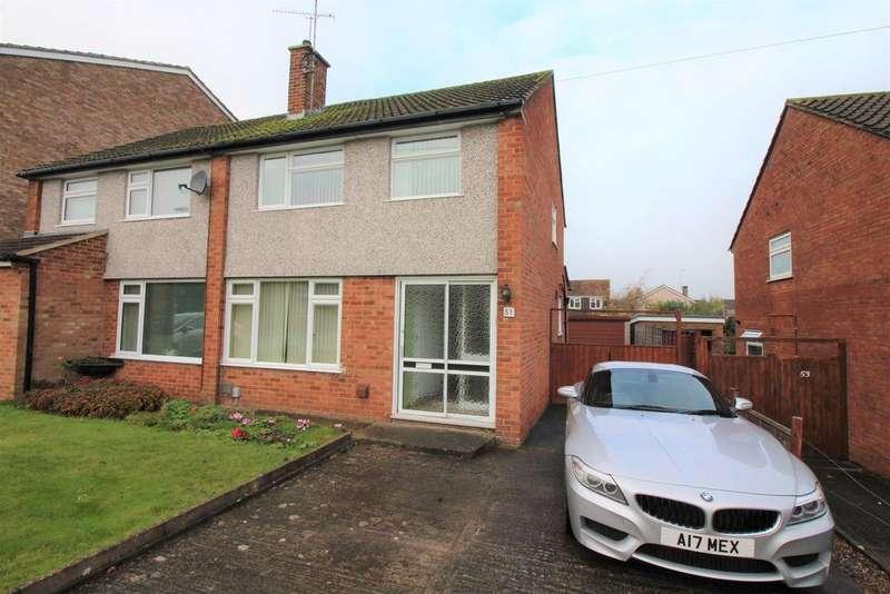 3 Bedrooms Semi Detached House for sale in Oakleaze Road, Thornbury, Bristol, BS35 2LP