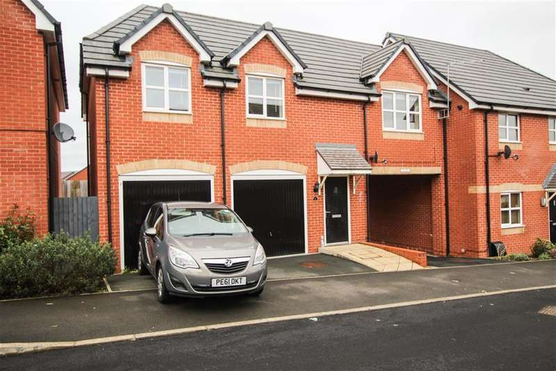 2 Bedrooms House for sale in Fazeley Drive, Brindley Village, Sandyford, Stoke On Trent, ST6 5BZ