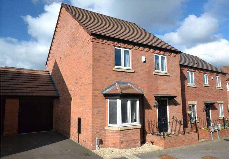 4 Bedrooms Detached House for sale in 14 Lineton Close, Lawley Village, Telford, TF4