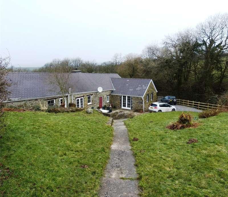 3 Bedrooms Detached Bungalow for sale in Fern Cottage, Tavernspite, Whitland, Pembrokeshire