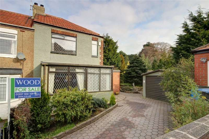 3 Bedrooms End Of Terrace House for sale in East Law, Ebchester, Consett, DH8