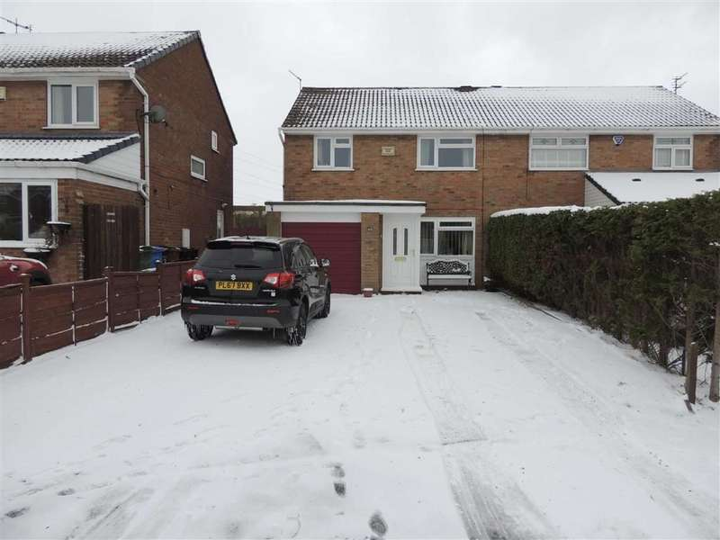 3 Bedrooms Semi Detached House for sale in Peregrine Road, Offerton, Stockport