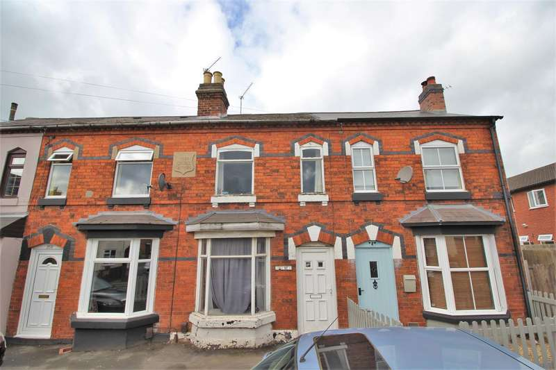 2 Bedrooms Terraced House for sale in Evesham Road, Crabbs Cross, Redditch