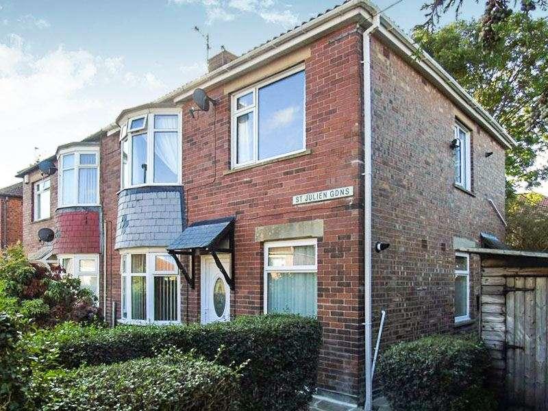 2 Bedrooms Property for sale in St. Julien Gardens, Howdon, Wallsend, Tyne and Wear, NE28 0DH