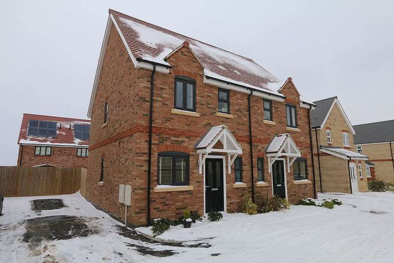 2 Bedrooms Semi Detached House for sale in CORBY, CORBY, Northamptonshire, NN17