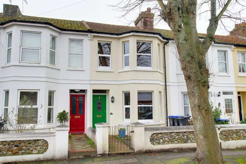 3 Bedrooms Terraced House for sale in Wigmore Road, Worthing BN14 9HH