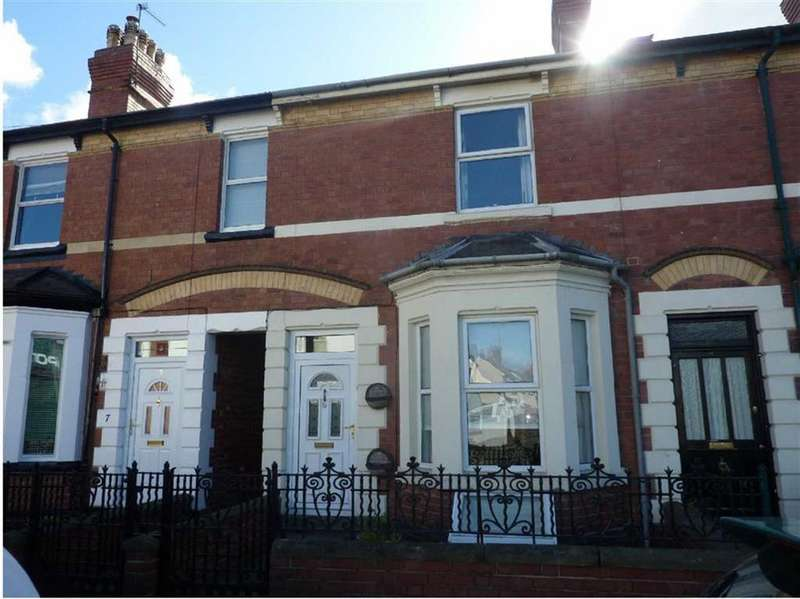 3 Bedrooms Terraced House for sale in Ryelands Street, Hereford