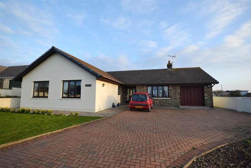 3 Bedrooms Detached Bungalow for sale in Hundleton, Pembroke