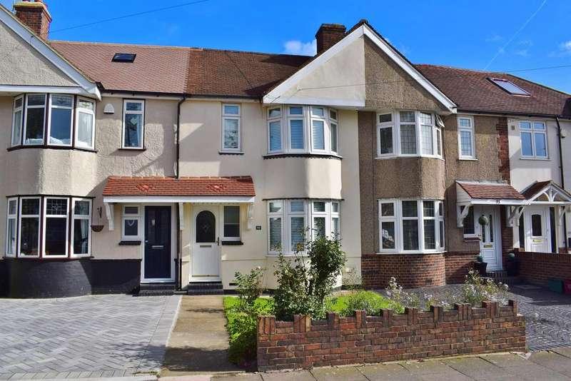 3 Bedrooms Terraced House for sale in Wellington Avenue, Sidcup, Kent, DA15 9HF