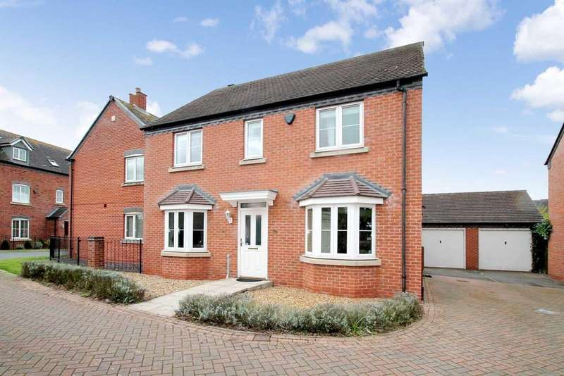4 Bedrooms Detached House for sale in Armada Close, Lichfield