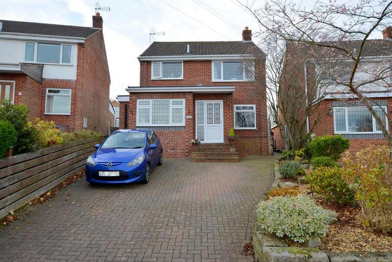 3 Bedrooms Detached House for sale in Wheatcroft Close, Wingerworth, Chesterfield, S42 6PE