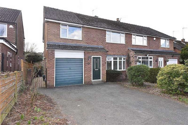4 Bedrooms Semi Detached House for sale in Albert Road, Bollington, Macclesfield