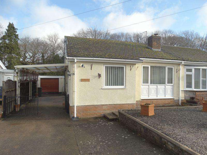 2 Bedrooms Semi Detached Bungalow for sale in Pentre Isaf, Colwyn Bay
