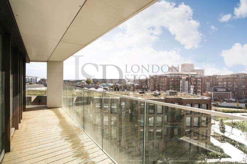 2 Bedrooms Flat for sale in Hampton Apartments, Royal Arsenal Riverside SE18
