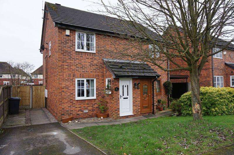 2 Bedrooms Semi Detached House for rent in Hertford Close, Congleton