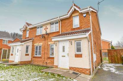 4 Bedrooms Semi Detached House for sale in Telford Drive, St.Helens, Merseyside, WA9