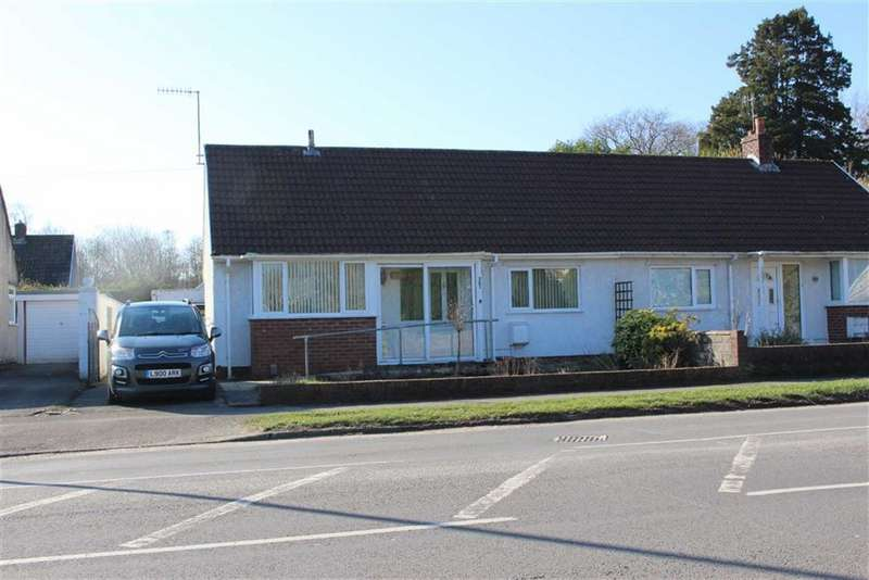 2 Bedrooms Semi Detached Bungalow for sale in Swansea Road, Waunarlwydd