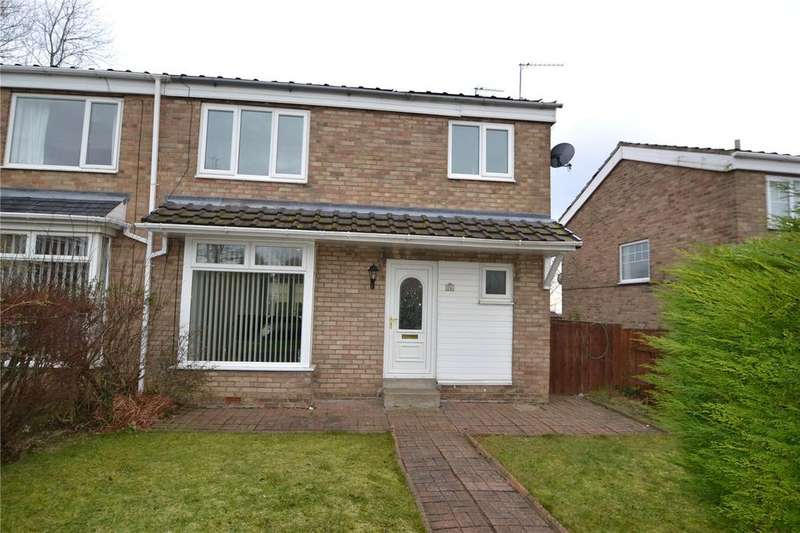 3 Bedrooms Semi Detached House for sale in Girton Close, Peterlee, Co.Durham, SR8