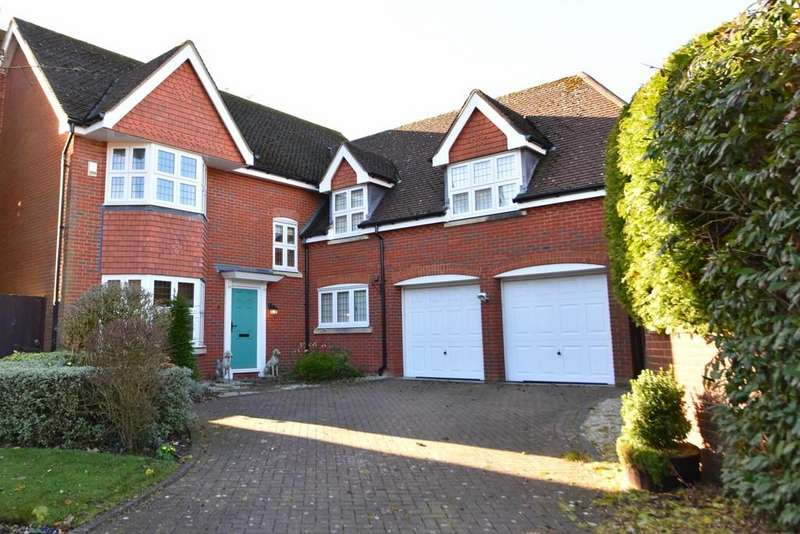 4 Bedrooms Detached House for sale in Wimbrick Close, Ormskirk, Lancashire