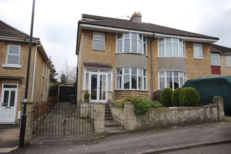 4 Bedrooms Semi Detached House for sale in Sladebrook Road, Southdown, Bath