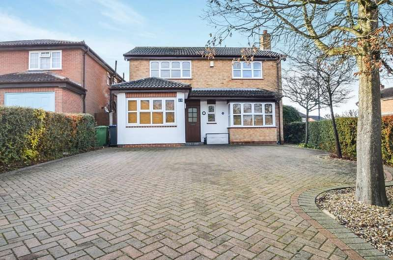 4 Bedrooms Detached House for sale in Mulberry Road, Bilton, Rugby