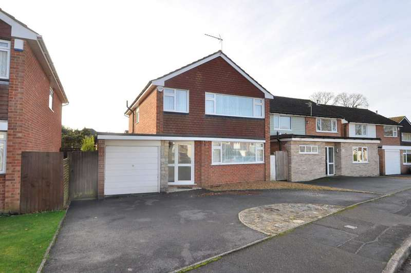 4 Bedrooms Detached House for sale in Locksley Drive, Ferndown