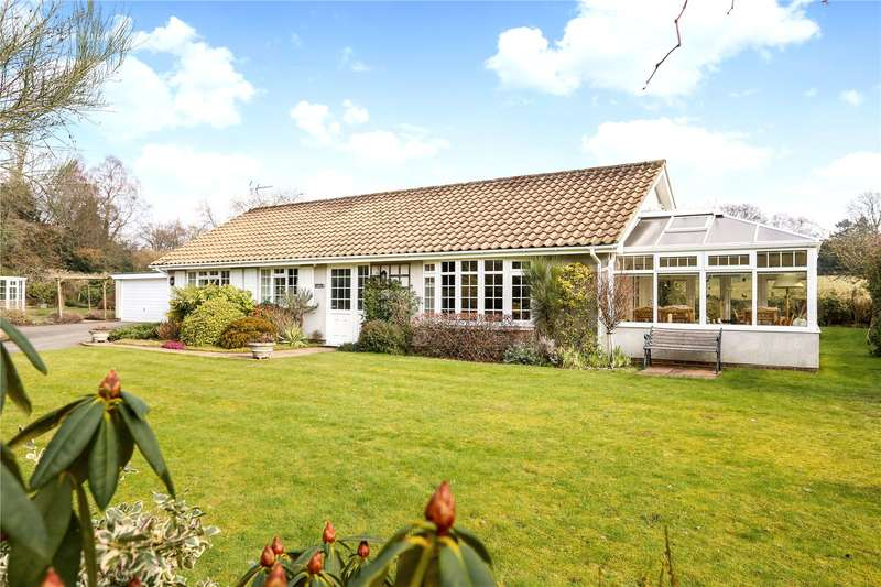 3 Bedrooms Detached Bungalow for sale in Church Road, Bramshott, Liphook, Hampshire, GU30