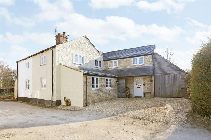 4 Bedrooms Semi Detached House for sale in Studley Corner, Studley, Calne