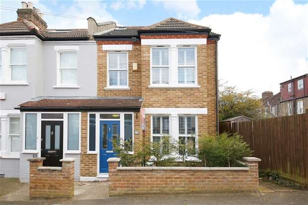 3 Bedrooms End Of Terrace House for sale in Trilby Road, Forest Hill
